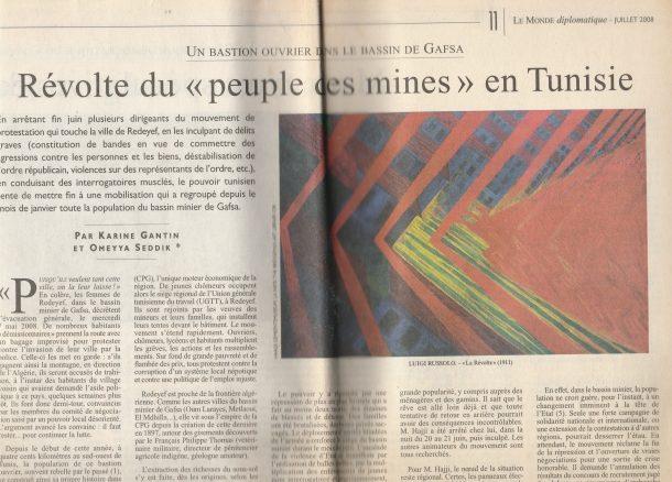 Le Monde Diplomatique - reportage bassin minier